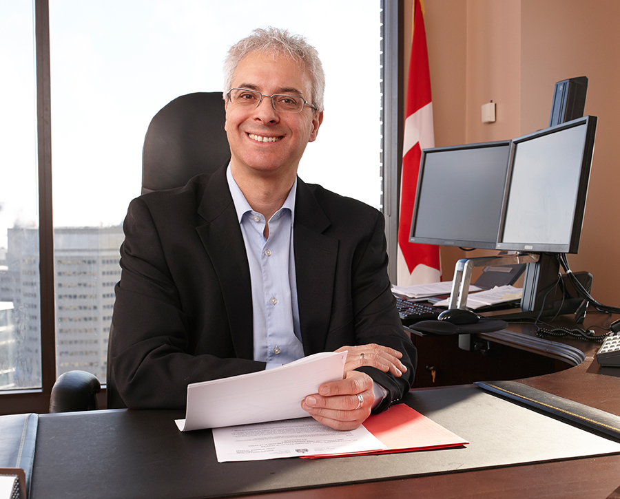 Photo of Scott Streiner, Chair and Chief Executive Officer, Canadian Transportation Agency